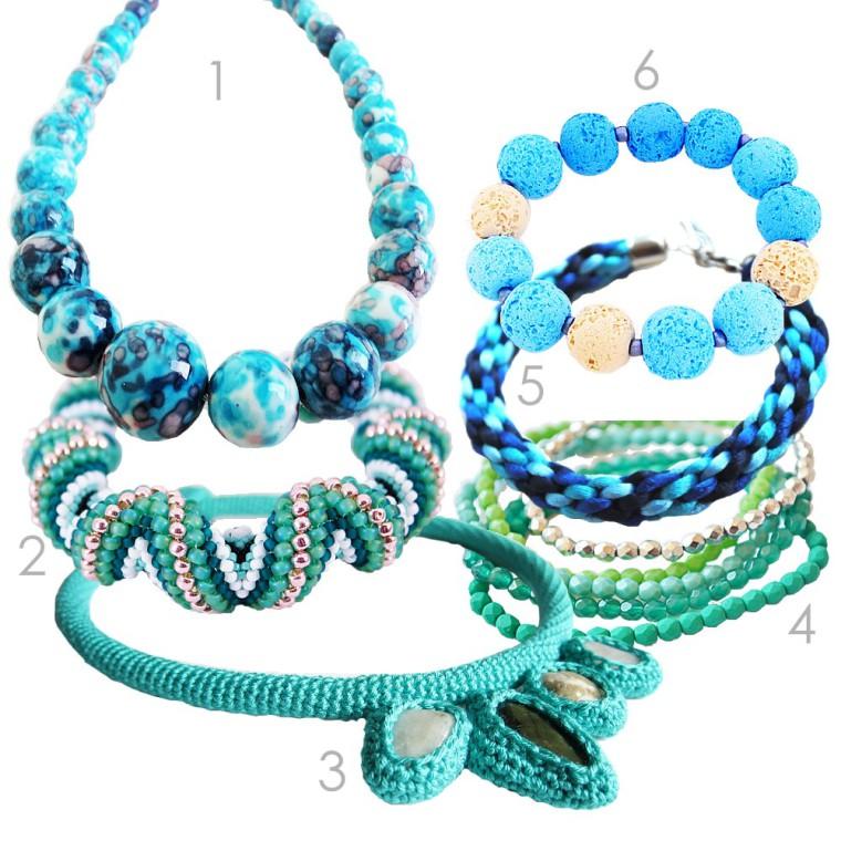 accesorii - albastru marin