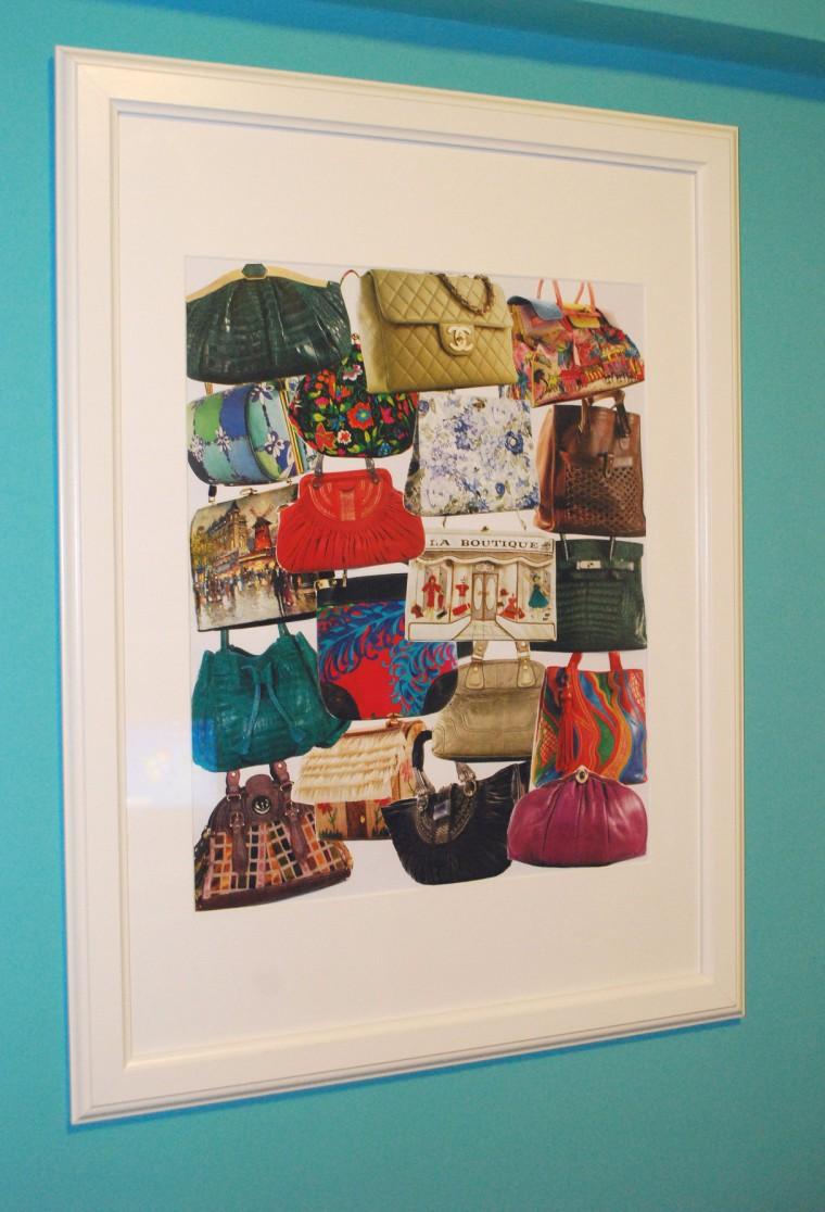 colaj realizat de mine - favorite bags