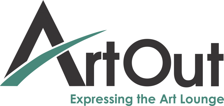 ART OUT LOGO slogan vectorial