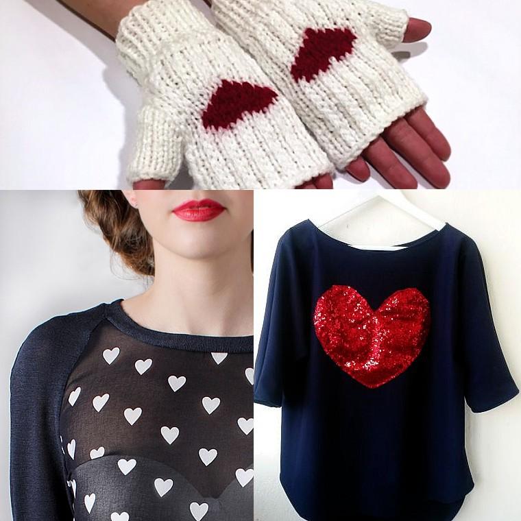Haine si accesorii - inimi 2