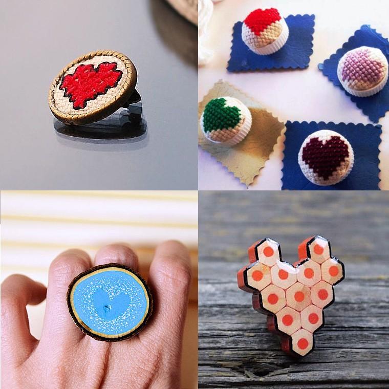Haine si accesorii - inimi 4