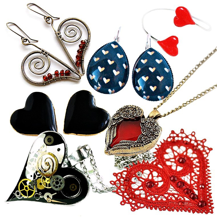 Haine si accesorii - inimi 5