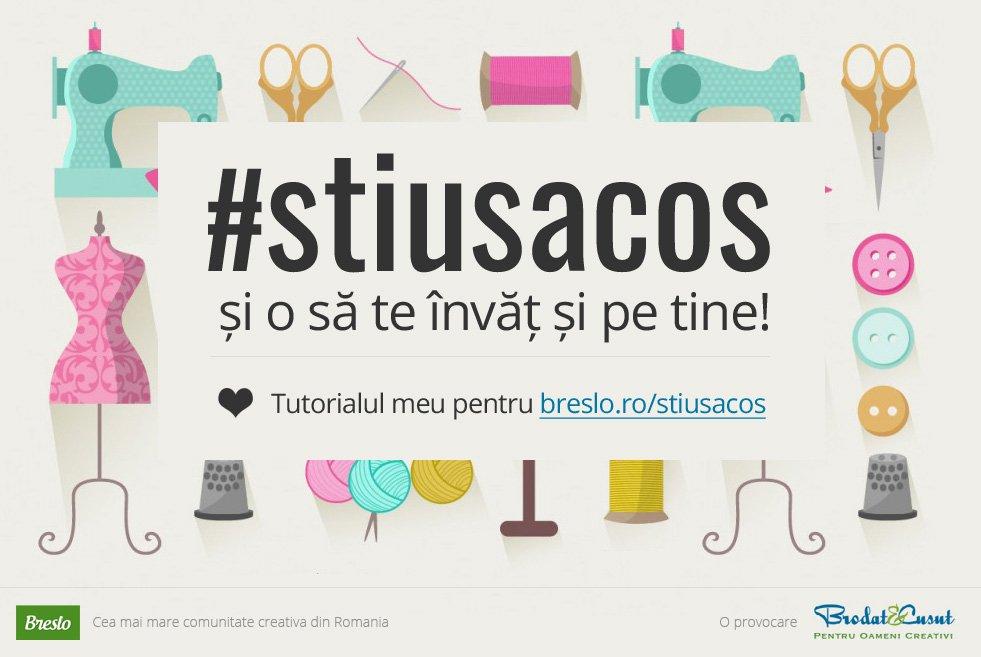 #stiusacos, concurs, Brodat si Cusut