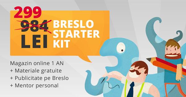 handmade, Starter Kit, furnituri pe Breslo.ro